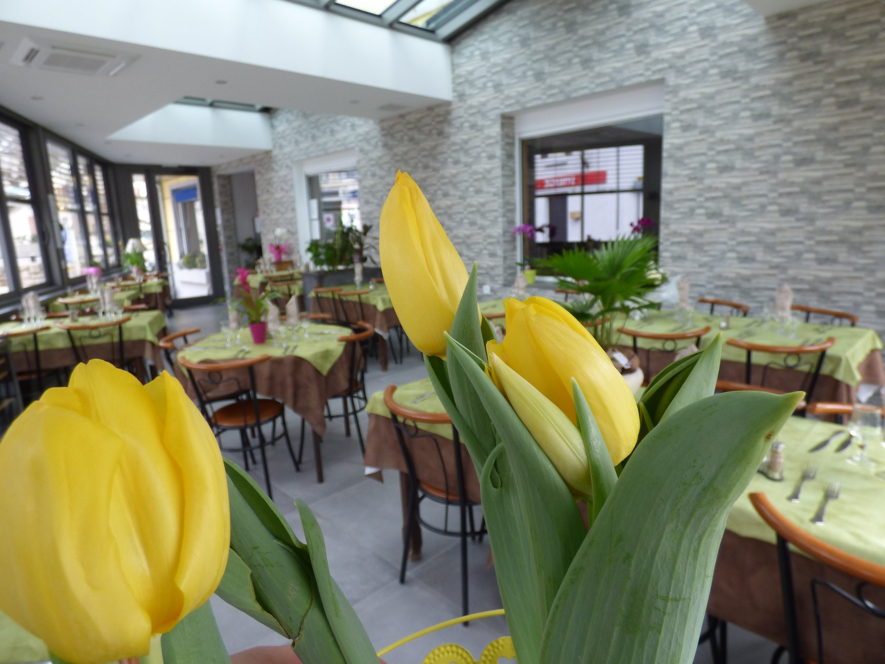 Auberge des Avenières : Nouvel espace de restaurant